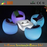 2014 New Arrival LED Light Chair With 16 Colors And Huge Capapcity Battery