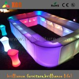 LED antique bar table&Hotel bar counter& glowing bar table