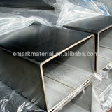 Weight square hollow steel tube factory price 2014