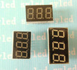 Humidity temperature 7 segment Led Display 3 digits (SYS08031G/H)