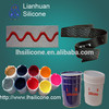 silk printing 3D effect silicone ink for textile