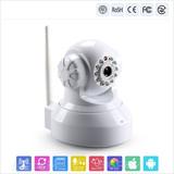 H264 1.0 MP CMOS security surveillance robot p2p wifi camera ip