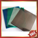 PC sun sheet,hollow polycarbonate sheet,great building product!