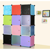 DIY modern designed colorful wardrobe for children and baby (FH-AL0043-12)