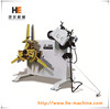 high quality 2 in 1 rack straightener and uncoiler machine