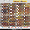 3D glass mix marble mosaic tile for interior wall decor