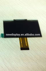 2.7 inch small 128*64 resolution OLED screen for industrial products