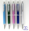 Shiny color high quality metal click pen for promotional