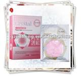 Crystal milk and roses facial mask