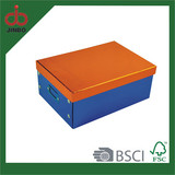 2014 Fashion design Metal Cardboard Storage Box