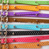 China Various Pet Products Starry Sky Metal buckle PU Leather Dog Collars