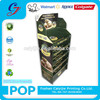 Food supermarket retail customized food bag cardboard display stand
