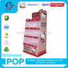 Hello Kitty brand supermarket promotion sale custom hanging sixiang cardboard display rack