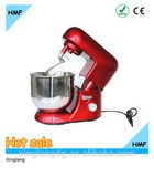 red commercial kitchen food mixer