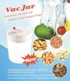 high-end plastic vacuum jar vacuum food container