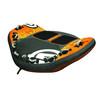 Comfort Top EN71 PVC Inflatable Water Sports Ski Tube 2 Rider Towable Tube