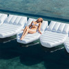 Luxury Inflatable Modular Sun Floating Daybed