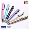 2014 new products and fashion Metal Roller Ball Pen with printable logo
