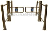 Supermarket Half Height Security Swing Turnstile Gate from Shzou Manufacturer