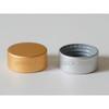 CL-C426 metal aluminum cosmetic bottle cap, anodized aluminum screw on cap, cosmetic lids closures