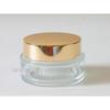 CL-C71195 metal aluminum screw on bottle cap cosmetic jar lids closures