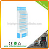 White and blue cardboard glass display cabinet,counter display box