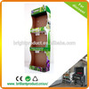 packaging factory cardboard corrugated display box, paper racks for supermarket