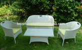 rattan outdoor sofa set stacking / patio wicker sofa furniture made in China