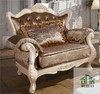 Luxury classic european sofa set HB-605# luxury hand carved sofa set