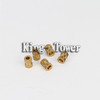 brass copper stainless steel precision lathe nut and screws