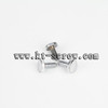 machine screw of hand tighten screw with shing head for water faucet