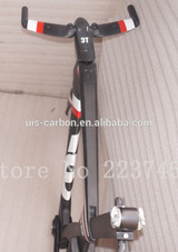 zhongwei TT-016 time trial bicycle frame tt frame set carbon frame Di2 compatible inner cable routing