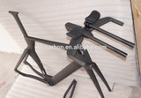 Carbon Time Trial Bicycle Frame Inner Cable Routing Di2 System TT Frame P5 Frame
