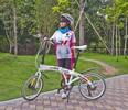 Custom aluminum 20 folding bicycle folding bike
