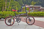 Popular lady bike aluminum folding custom bike 20