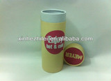 Round paper coffee mug packaging boxes for coffee gift box