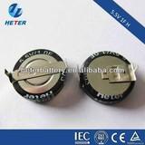 Low ESR 5.5V 1F super capacitor for water meter
