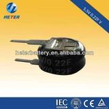 low leakage 5.5V 0.22F super capacitor