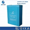 LiFePO4 3.2V 200Ah battery module for UPS, solar storage and EV