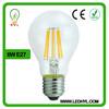 Beautiful home decor ce rohs low price a60 led filament bulb