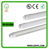AC 85-265V led t8 tube SMD 2835 110lm/w 1.5m 25W tube 8 free for parking lot