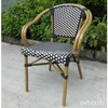 faux outdoor bamboo garden chair