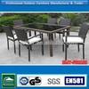 High quality wicker rattan used teak outdoor furniture