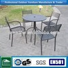 Outdoor patio Iron table and chairs