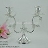 Silver Plated Candle Holders For Weddings / Metal Candle Holder / Cheap Candle Holder