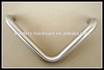 Excellent quality L shape stainless steel pull handle for steel doors