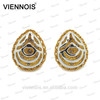 Fashion Ladies Popular teardrop shape earring jewelry