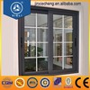 aluminum framed double glazed sliding window