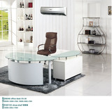 modern glass desk,glass office table,office executive glass table modern MR-DB048