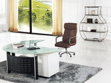 modern glass office desk,glass office table,small glass office computer desk MR-DB050